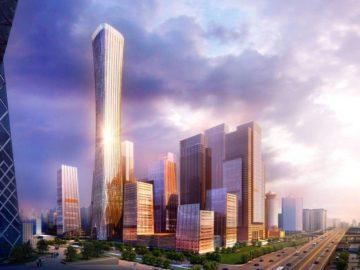 china zun tòa nhà cao nhất bắc kinh