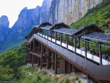 thang cuốn dài nhất thế giới ở hồ bắc