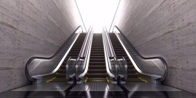thang cuốn ở metro côn minh