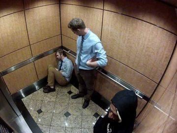 sợ thang máy