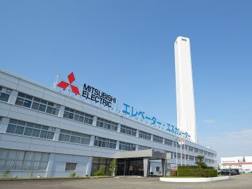 nhà máy sản xuất thang máy mitsubishi inazawa works